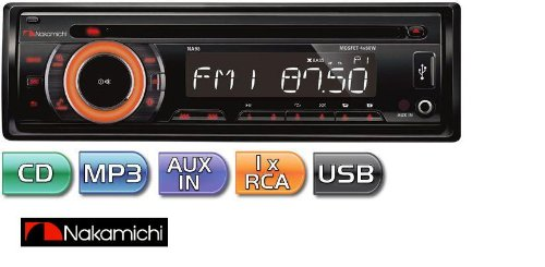 Used, NA98 - Nakamichi In-Dash 1-DIN CD/MP3/WMA/USB Stereo for sale  Delivered anywhere in USA