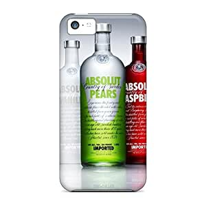New Fashion Premium Tpu Cases Covers For Iphone 5c - Absolut Vodka