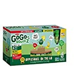 GoGo squeeZ Applesauce on the Go, Variety Pack (Apple Apple/Apple Banana/Apple Strawberry), 3.2 Ounce Portable BPA-Free Pouches, Gluten-Free, 16 Total Pouches