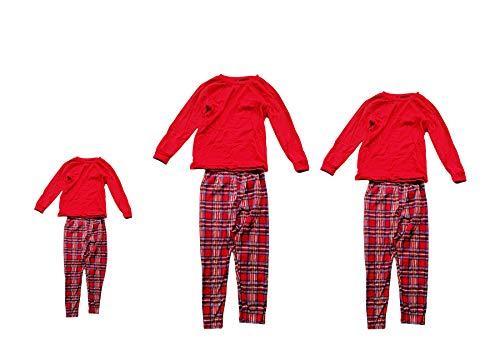 Family Christmas Pajamas Set, Long Sleeve Cotton Xmas Homewear Sleepwear (Men M) for $<!--$28.99-->