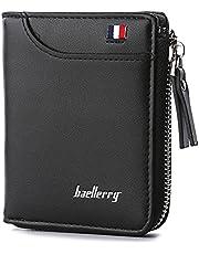 محفظة جلدية للرجال لحمل البطاقات، محفظة قصيرة فاخرة للرجال، حافظة بطاقات ماركة، محافظ كاجوال معيارية - 2724633219032، من بايليري