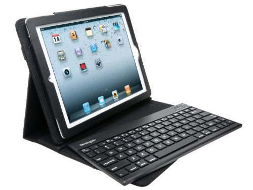 Kensington KeyFolio Pro 2 Removable Keyboard Case and Stand for iPad 4th Generation, the New iPad3 / iPad 2