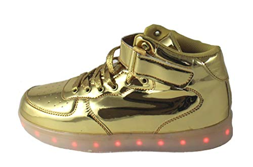 ATS Unisex LED Shoes Breathable Sneakers Light up Shoes,LG-6166,11