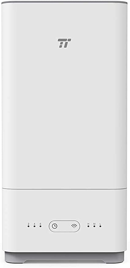 5L//1.32 Gallon, 100-240V TaoTronics TT-AH014 Top Fill Humidifiers for Bedroom Low Water Protection Easy to Clean Ultrasonic Essential Oil Diffuser 40 Hours Cool Mist