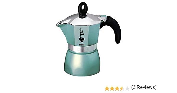 Bialetti - 0004302 Dama Glamour - Cafetera, Color Celeste: Amazon ...