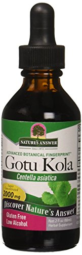 Nature's Answer Gotu-Kola Herb 2 OZ