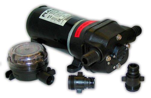 FloJet 04125502A Marine Freshwater General Purpose Pump (5-GPM, 12-Volt, (Flojet Marine Pumps)
