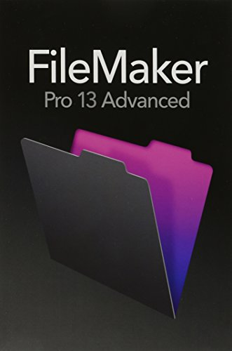 Price comparison product image FileMaker Pro 13 Advanced - English