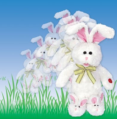 easter plush hoppin peter cottontail