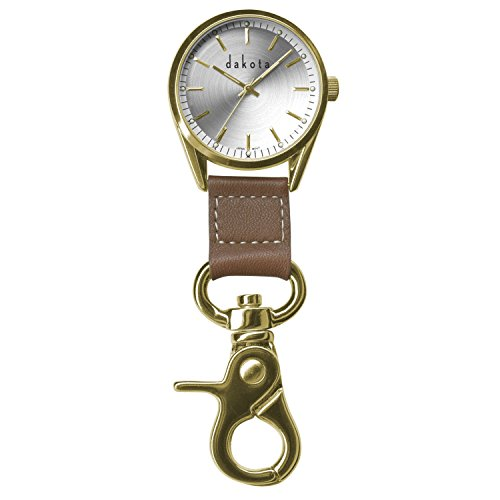 dakota-watch-company-classic-dress-clip-watch-with-gold-case-leather-fob