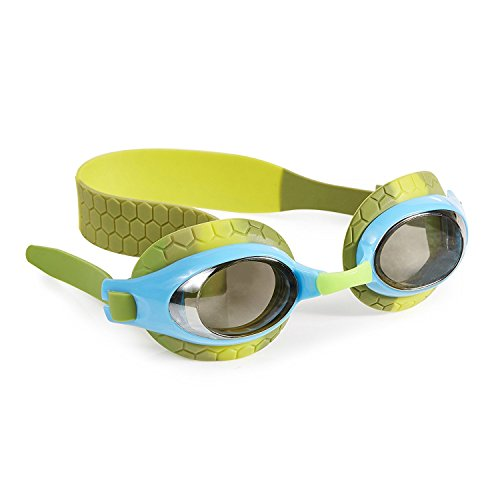 Swimming Goggles For Boys - Snappy Kids Swim Goggles By Bling2o (Leather Back Baby - Swimming New Goggles