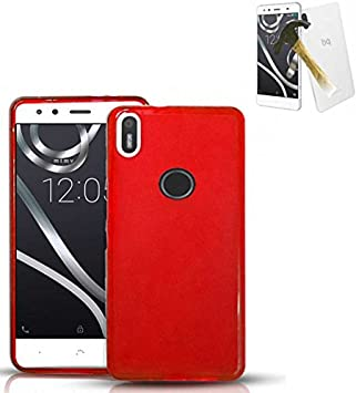 Todobarato24h Funda TPU Lisa Compatible con BQ AQUARIS X5 Plus ...