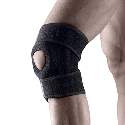 Knee Brace – Hinged, Adjustable Patella Support, Lateral/Medial Ligament (ACL, MCL, LCL), Meniscus, Knee Sprains for Soccer, Basketball, Hockey, Skiing,Running, Water Sports