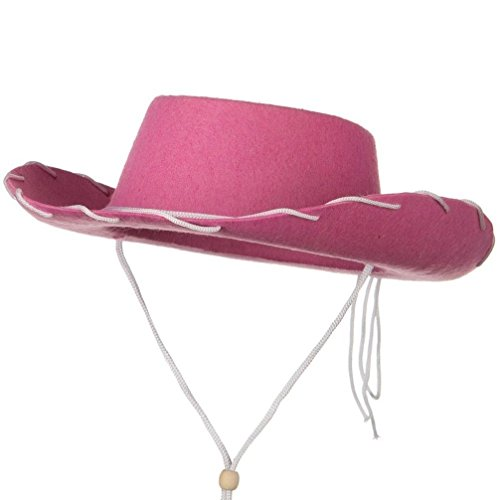 Child Cowboy Cowgirl Hat Toy Story Jessie Woody Western Costume Accessory (Woody And Jessie Costumes For Adults)