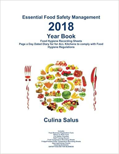 2018 Yearbook  Essential Food Safety Management : Kitchen