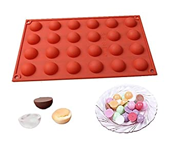 Silikon Schokoladen Kugel Ball Form Eiswürfel Pralinen Cupcake Nr