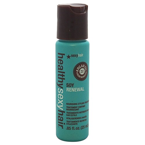Healthy Sexy Hair Soy Renewal Nourishing Styling Treatment by Sexy Hair for Unisex - 0.85 oz (Nourishing Styling Treatment)