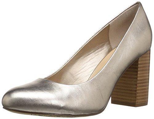 Bella Leather Heels - Bella Vita Women's NARA Pump, Champagne Leather, 8 M US
