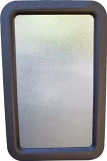 RV C&er Travel Trailer Entry Door Window w/Interior and Exterior Frame Black & Amazon.com: CR Laurence 11035S 13\