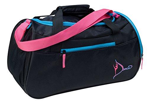 Dansbagz By Danshuz Women's Neon Dancer's Gear Bag, Black, OS by DansBagz by Danshuz