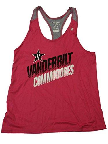 Vanderbilt Commodores Champion WOMENS Magenta Racerback Tank Top T-Shirt (M)
