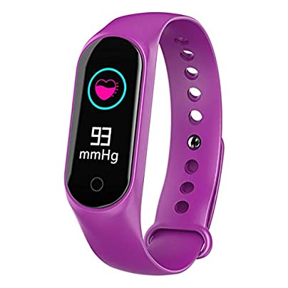 DMMDHR Color Screen Smart Wristband Heart Rate And Blood Pressure Blood Oxygen Monitoring Waterproof Pedometer Estimated Price £60.90 -