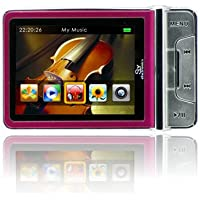 Sly Electronics 4 GB Video MP3 Player with 2.4-Inch LCD and 2MP Digital Camera (Pink)