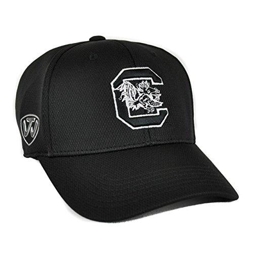 South Carolina Gamecocks Top Of The World Ultrasonic Black One Fit Flex Hat (Adult One (South Carolina Gamecocks Bedding)