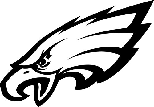 TDT Printing & Custom Decals Philadelphia Eagles Vinyl Decal Sticker for Car or Truck Windows, Laptops etc. ()