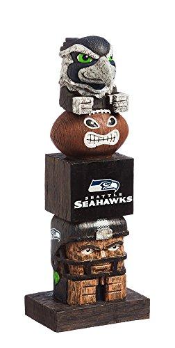 Team Sports America NFL Seattle Seahawks Tiki Totem ()