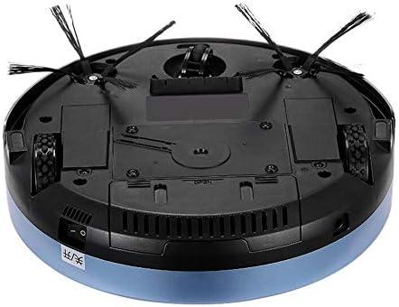 Haoshangzh55 Robot de Balayage Intelligent avec Un Bouton pour démarrer Le Balayage à Faible Bruit Trois-en-Un Automatique pour éviter l\'aspiration du Robot de Charge