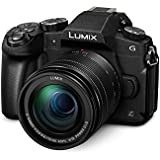 PANASONIC LUMIX G85 4K Mirrorless Camera 12-60mm Power O.I.S. Lens, Dual I.S. 2.0, 16 Megapixels, 3 inch Touch LCD, DMC-G85MK (USA Black)