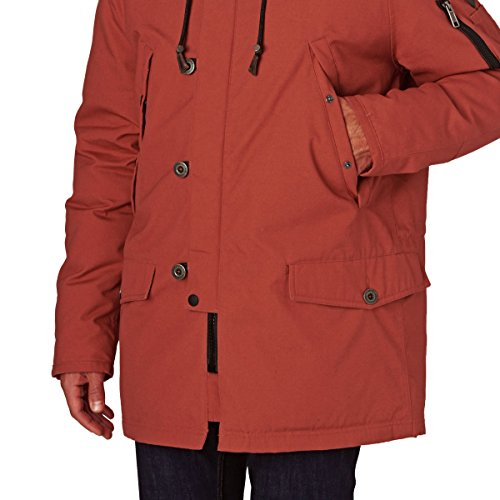 O'Neill Jackets - O'Neill Cold Conditions Parka Jacket - Cinnabar