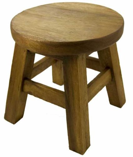 Stool For Child Wooden Plain. H27cmxW26cm  sc 1 st  Amazon UK & Stool For Child Wooden Plain. H27cmxW26cm: Amazon.co.uk: Kitchen ... islam-shia.org