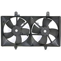 MAPM Premium ALTIMA 02-06 / MAXIMA 04-08 RADIATOR FAN SHROUD ASSEMBLY, Dual Fan Type