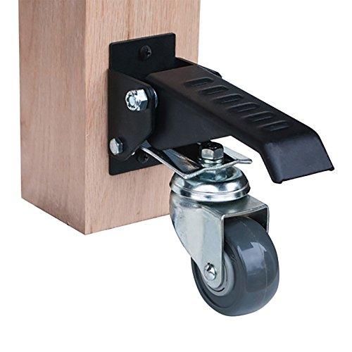 POWERTEC R17000 Dubois Workbench Caster Kit (4 Pack) by POWERTEC (Image #3)