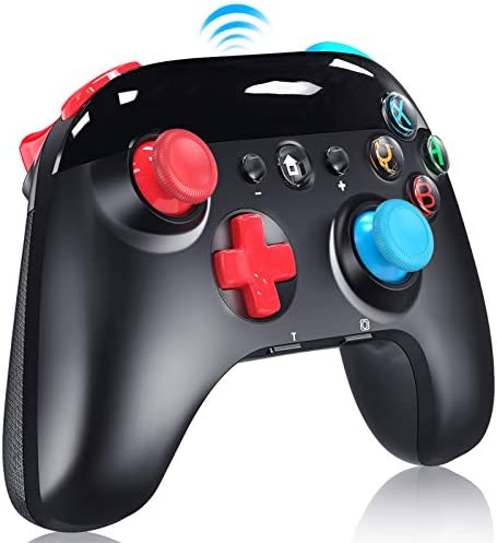Wireless Pro Controller for Nintendo Switch/Lite, 2020 Upgraded Version Support Motion Control, Turbo, Vibration and Screenshot