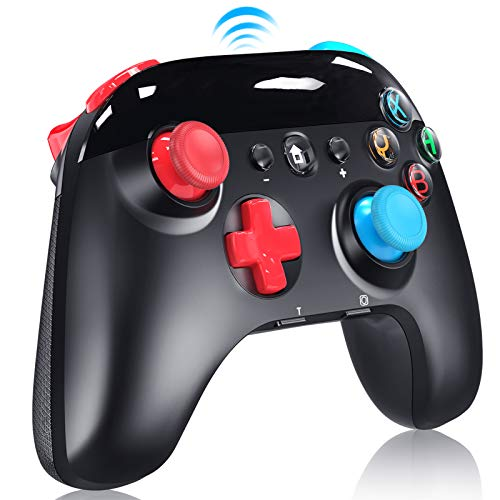 Wireless Pro Controller for Nintendo Switch/Lite, 2021 Upgraded Version Support Motion Control, Turbo, Vibration and Screenshot