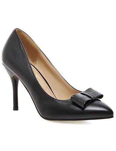 Ijkmn chaussures Cn41 Pointu Noir Talons bout blanc Ggx Pu amp; Femmes Uk7 Chunky rouge casual us9 Talon Red Des rose Eu40 Bureau nbsp;carrière wBqwr