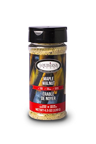 Louisiana Grills 50507 Maple Walnut Rub Maple Walnut