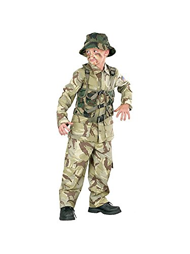 Big Boys Delta Force Army Costume Medium (8-10)