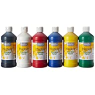 Handy Art Little Masters Tempera Paints Set, 16 oz, Pack of 6 .