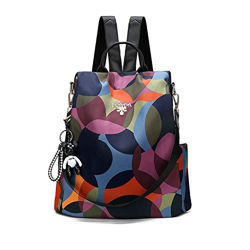 [해외]여성용 여행 배낭 다기능 옥스포드 천 방수 경량 소형 아웃 도어 캐주얼 도난 방지 배낭 / Women`s travel backpack multi-function Oxford cloth waterproof lightweight small outdoor casual anti-theft backpack
