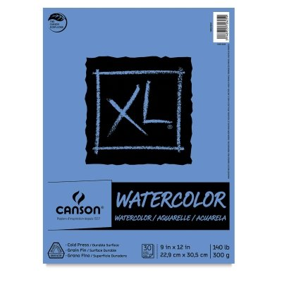XL Watercolor Pad, 9