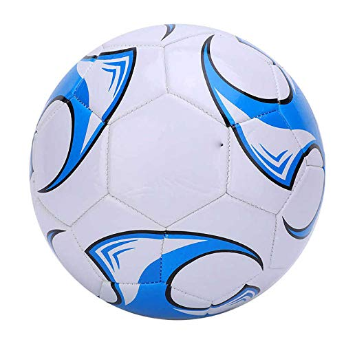aolongwl Balón de fútbol Tamaño 5 Pelota De Fútbol Cosida A Máquina Material De PU 2,7 Mm De Grosor Escuela De Fútbol…