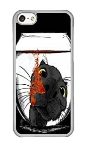 linJUN FENGApple iphone 5/5s Case,WENJORS Awesome Color Drop Hard Case Protective Shell Cell Phone Cover For Apple iphone 5/5s - PC Transparent