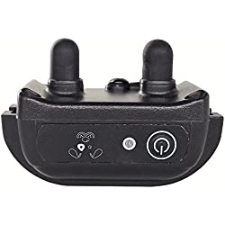 PetSpy Extra Collar for Premium Dog Training System with Shock, Vibration, Sound, Rechargeable and Waterproof - Remote is Required
