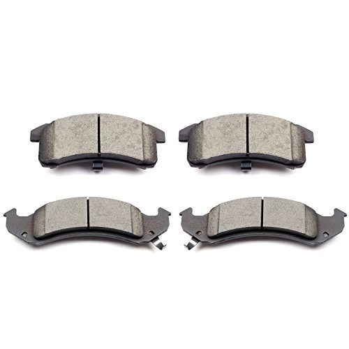 SCITOO Ceramic Discs Brake Pads, 4pcs Front Brake Pads Brakes Kits fit Buick LeSabre/Riviera,Cadillac DeVille/Seville,Chevy Lumina APV,Oldsmobile 88/98/Aurora/LSS,Pontiac Firebird Compatible ATD623C