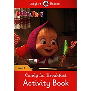 Masha-and-the-Bear-Candy-for-Breakfast-Activity-Book-Ladybird-Readers-Level-1