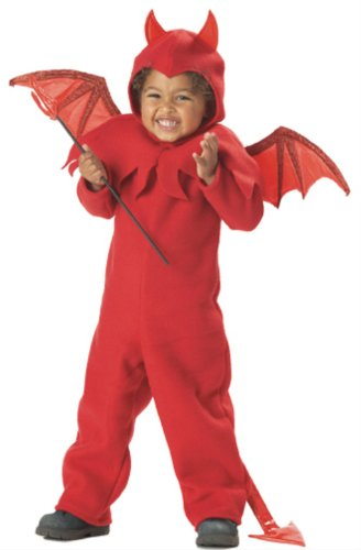 California Costume Lil Spitfire 00005 (Red, M (2-4)) (California Costume Size Chart)